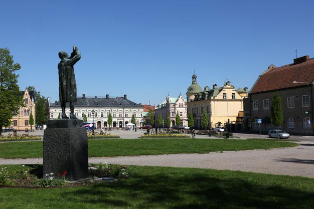 Köpings torg och Carl Wilhelm Scheele