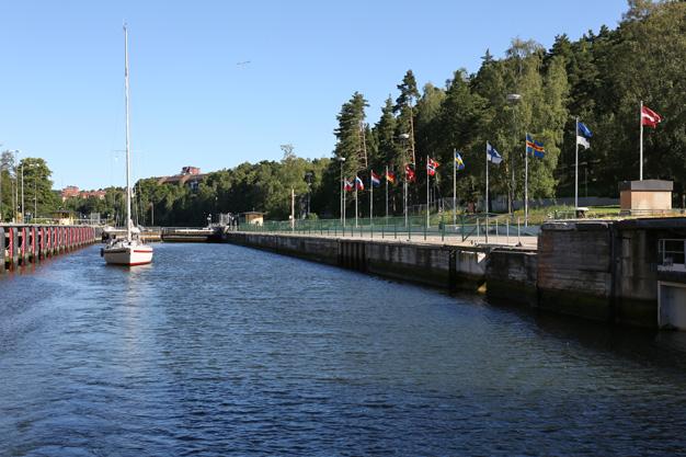 Slussen i Södertälje