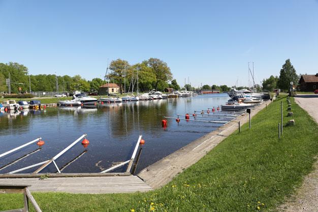 Hamnen i Köping